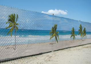 Pre-Printed Fence Screen