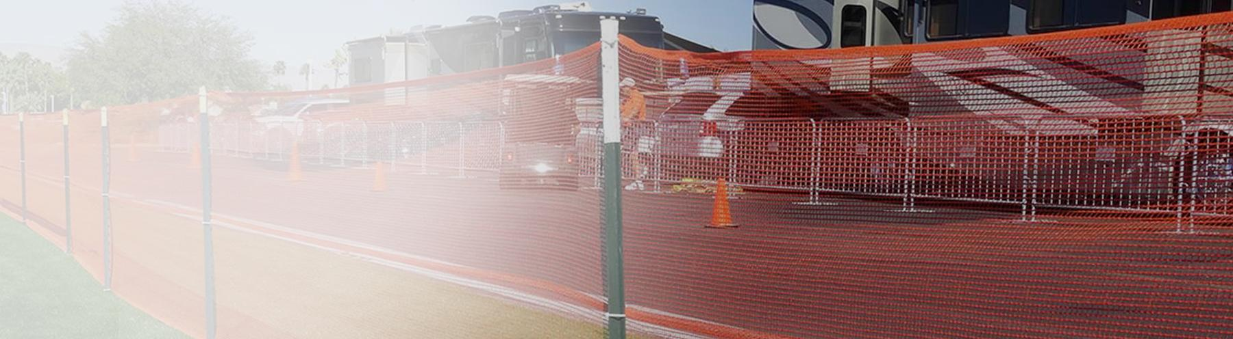 Crowd and Event Barrier Fence Netting