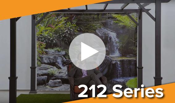 Pre-Printed Patio Backdrop Screens Video