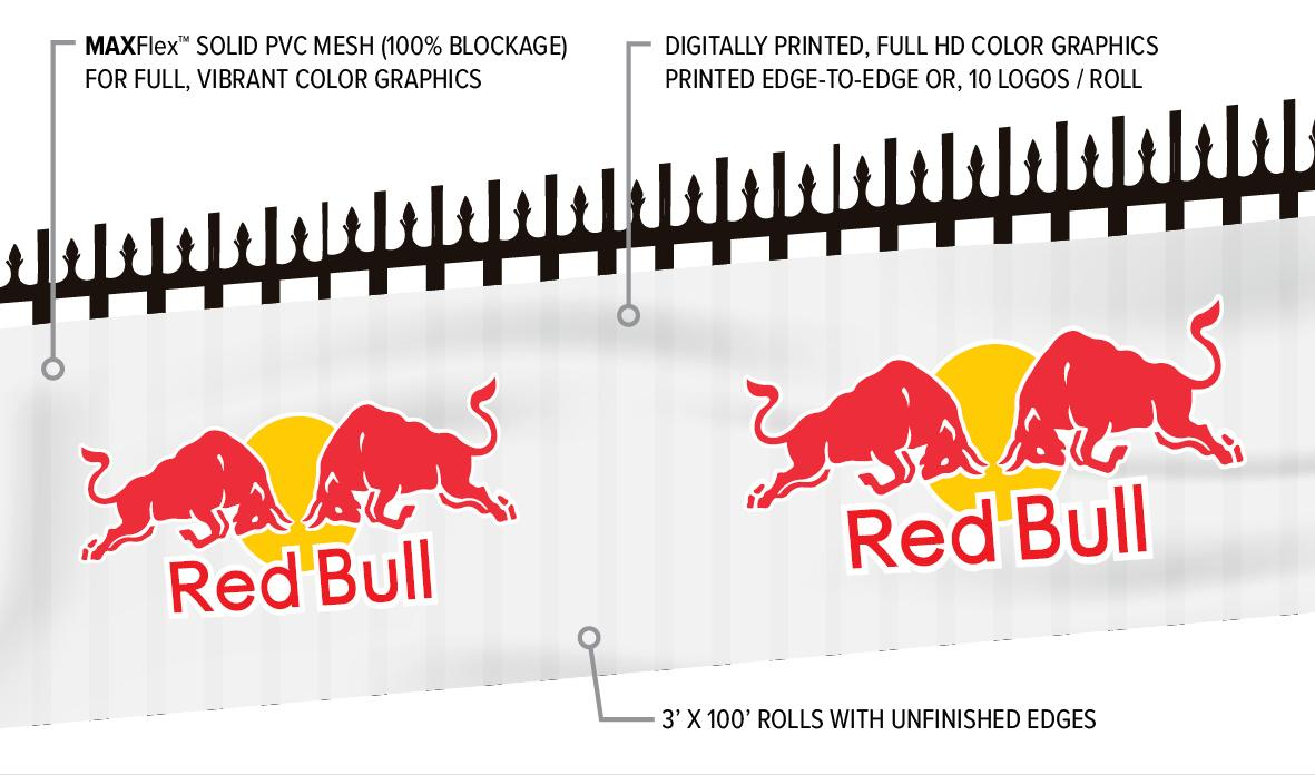 Custom Printed Special Event Fence Banners
