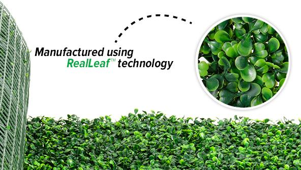 Artificial Boxwood Roll Product Focus