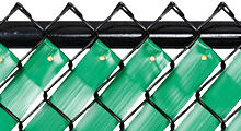 Chain Link Fence Privacy Tape
